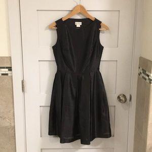 Vintage BCBG Black Dress 60s Style Small